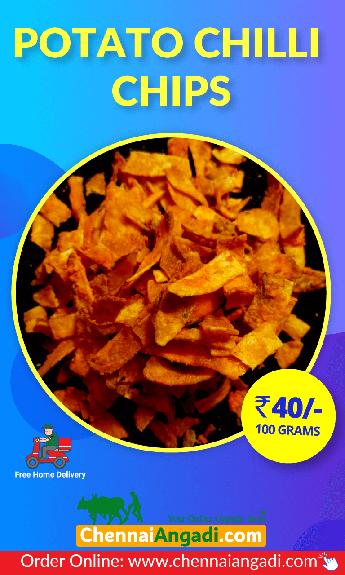 Potato Finger Chili Chips